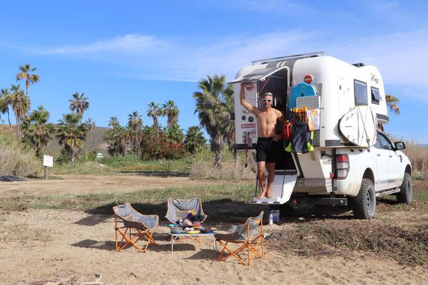 Our next beach stop was south of Todos Santos called Playa San Pedrito..