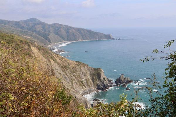 Pacific Coastline after Playa Maruata