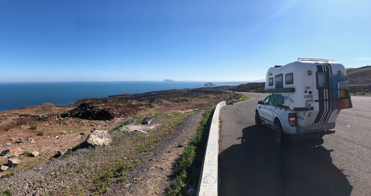 Looking South on to the Sea of Cortez