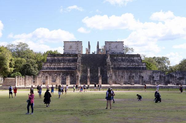 ..most of Chichen Itza was rebuilt in the last few decades