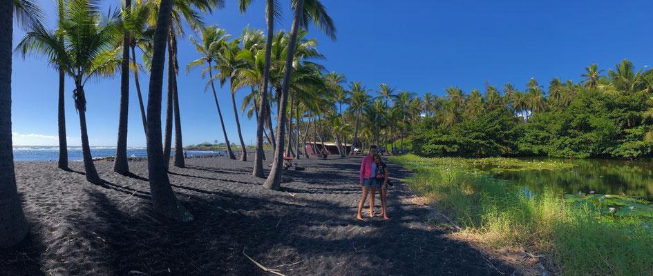 Panorama of the whole Beach
