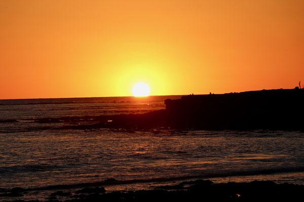 Sunset in San Juanico