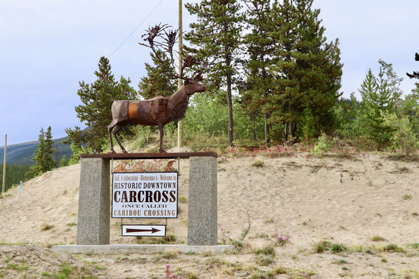 "Carcross hiess früher ""Caribou Crossing"""