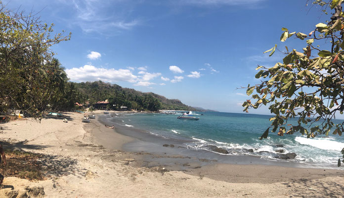 Montezuma and it's beach a very small fisher village which has become a magnet for hippies