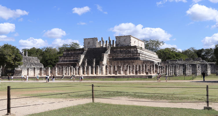 Chichen Itza was built by the Maya people it was one of the major focal points in the Northern Maya Lowlands from AD 600–900