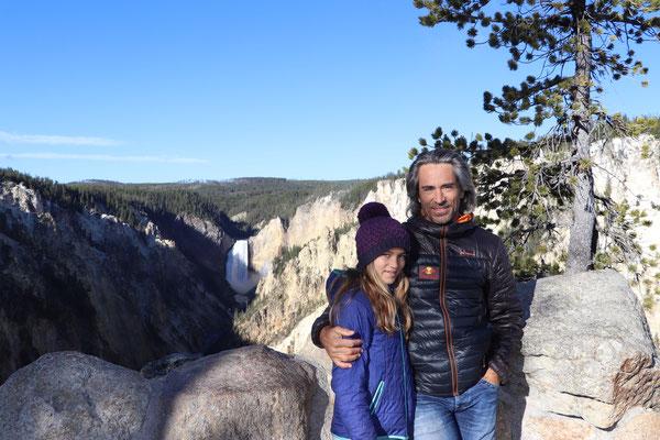 Grand Canyon Falls - Yellowstone