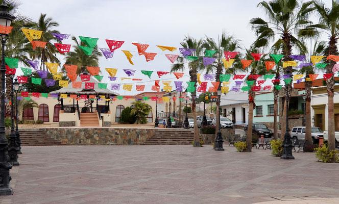 Plaza of Todos Santos