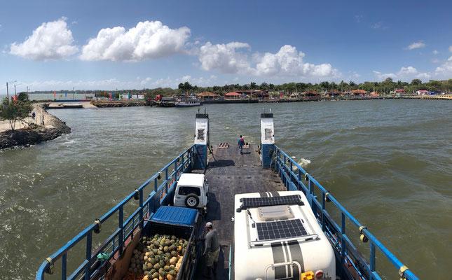 Leaving San Jorge to Ometepe Island
