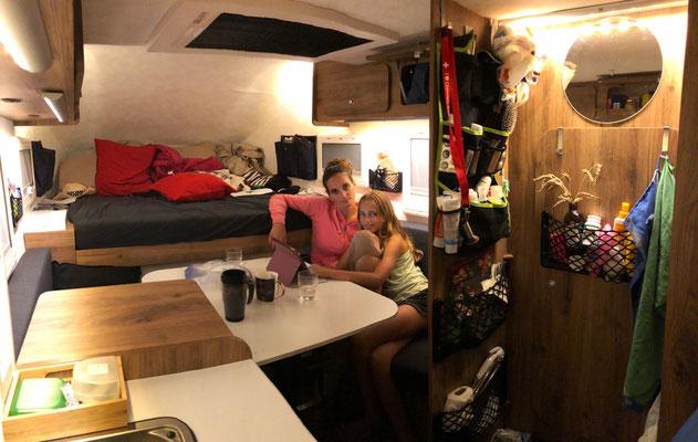 Stilleben im Camper