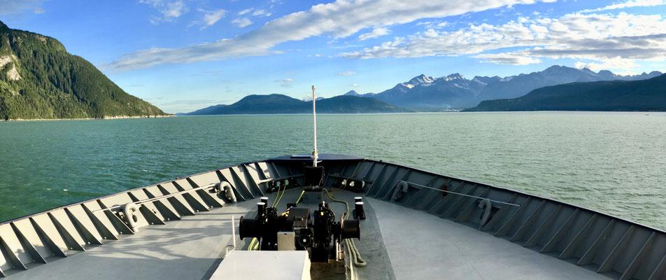 ..through the rough vast landscape of Alaska