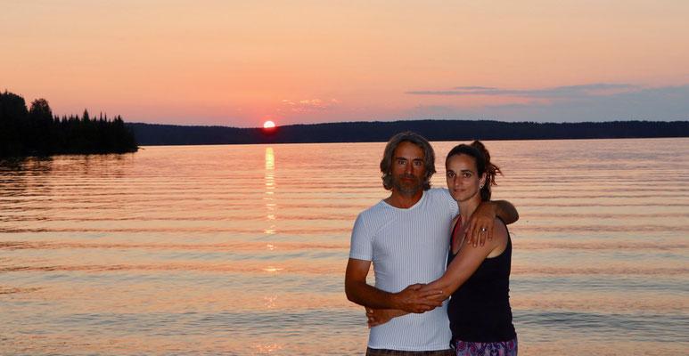 Sonnenuntergang Blue Lake