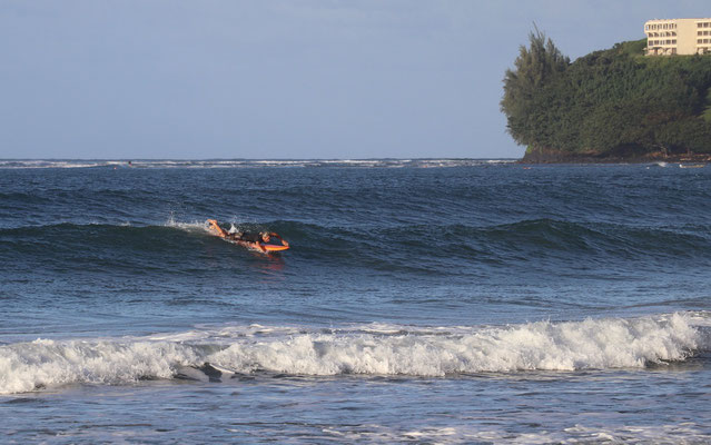 ...trying to surf..