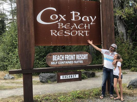 der bekanntester Beach auf Vancouver Island liegt in Cox Bay