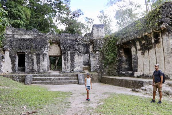 Tikal is a very impressive place...