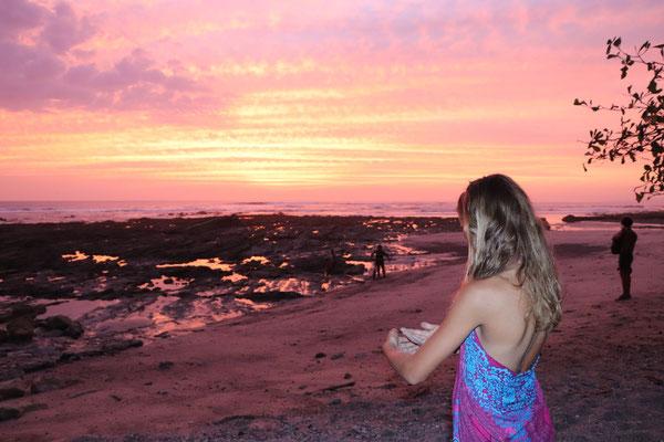 ..just after sunset close to Santa Teresa