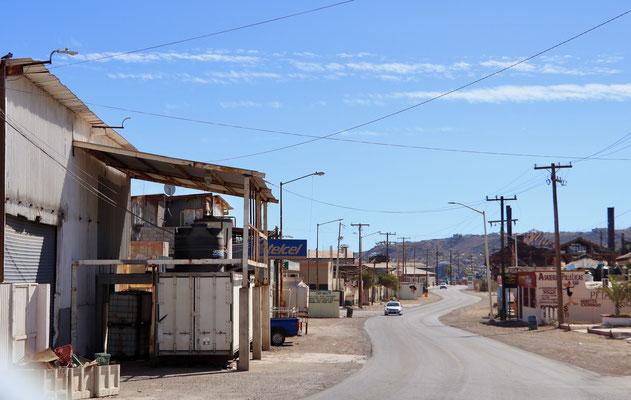 Mexico 1 Highway through San Rosalito