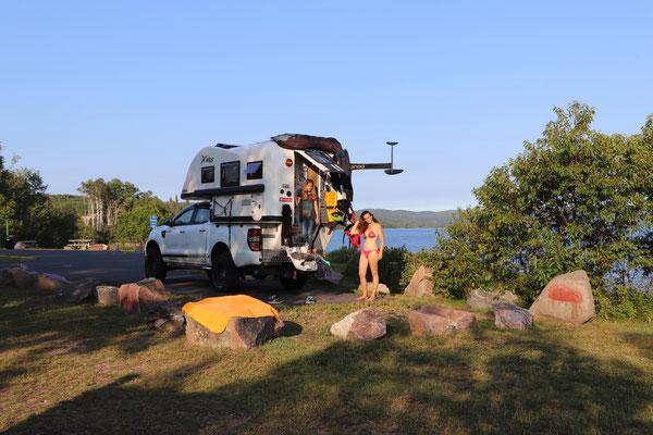 Übernachtung Lake Superior