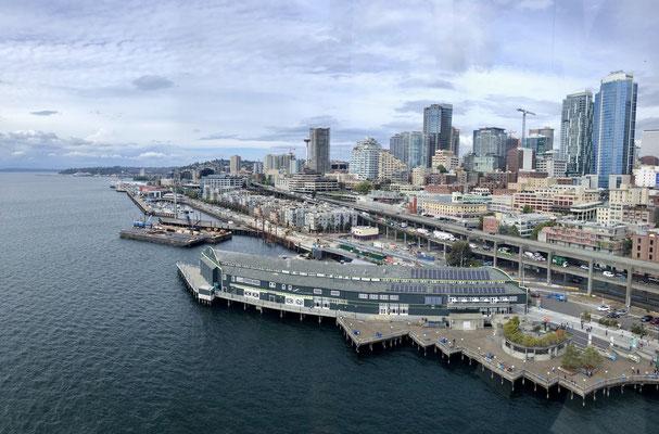Seattle Skyline from the Great Wheel