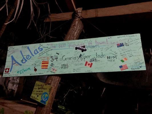 ...into Adela's memory board..