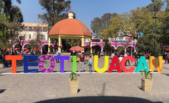 Teotihuacan Town Centre