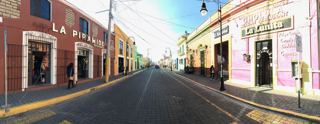 Colourful Street in Chochula