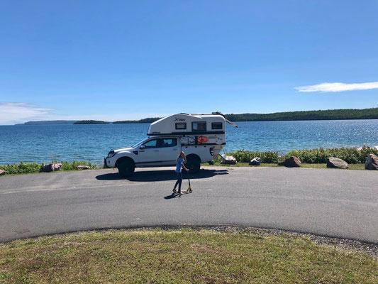 Raststätte Lake Superior