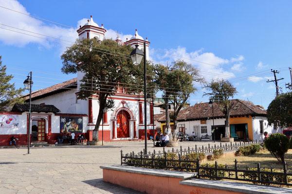 We went for a walk through San Cristobal..