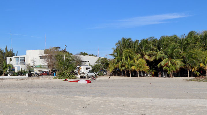 We left Campeche in the early afternoon and drove north to Celestun a fisher town in the Bay of Mexico...