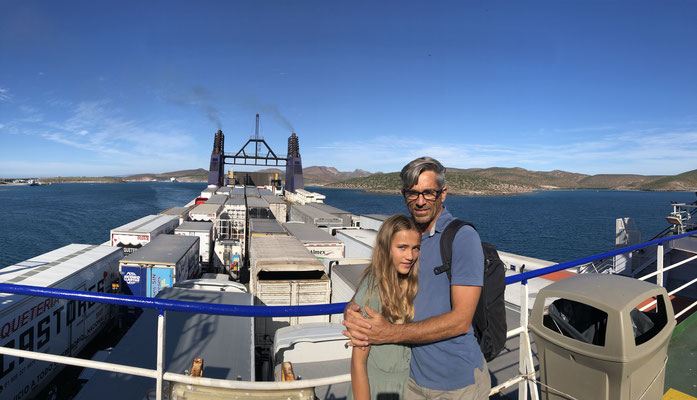 ..where we jumped onto the ferry to Mexico Mainland