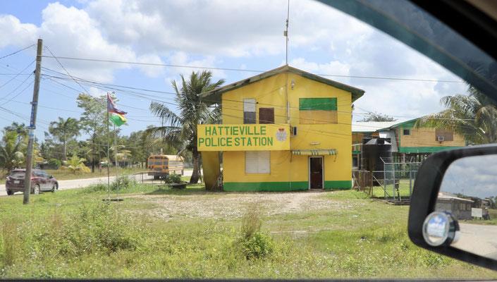 A colourful caribbean police station..