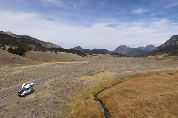 Lamar Valley - Yellowstone Park