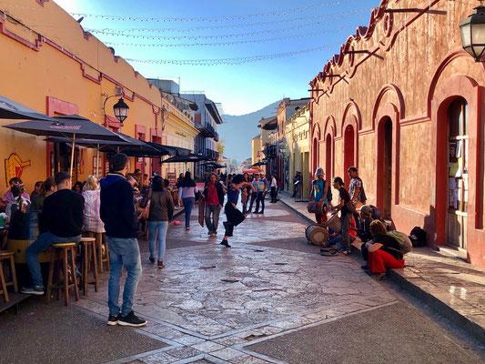 Street Dance in San Cristobal