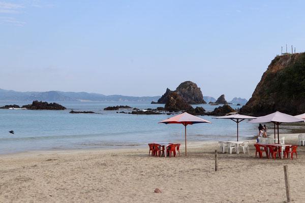 ...Tenacatita has a beautiful long beach stretching for many kilometres in a half moon shape