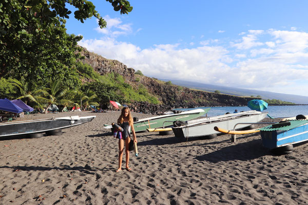 ...was the last beach we visited, one of the only places in Big Island you can camp on