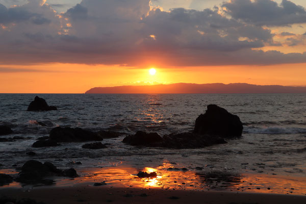 This is the last sunset we see in Costa Rica
