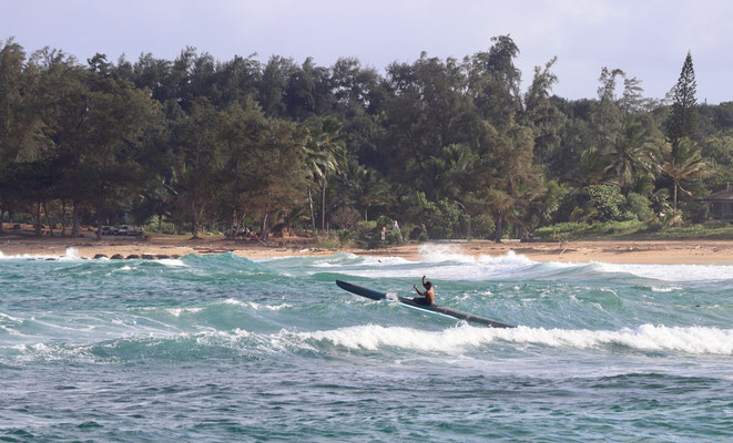...so it was good for the Hawaiian Canoe's to ride on too...