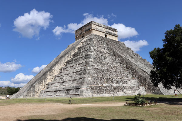 """The El Castillo is said to have two Pyramids hidden inside - one on top of the other - and it is built on a """"cenote"""" sinkhole"""