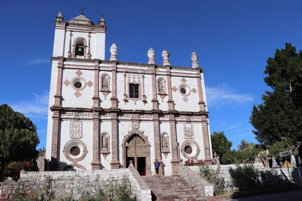 The jesuit settlers built this Church in this beautiful green oasis of southern Baja California