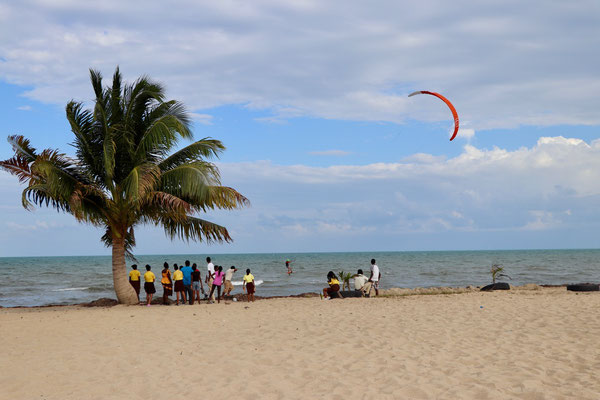 As the wind was blowing literally all day I went for a session - the locals were probably wandering why the Kitesurfer wasn't in the water?