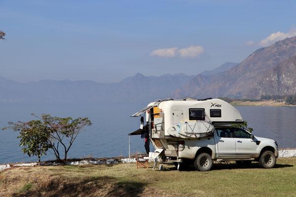 ..from the Hotel Tzanjuju Garden we camped in