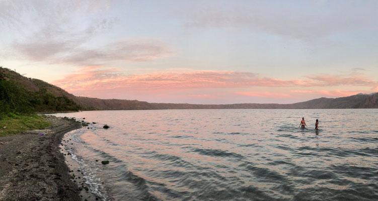 ..we made are way to Apoyo Volcano Lake