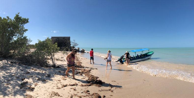 ..back on the beach