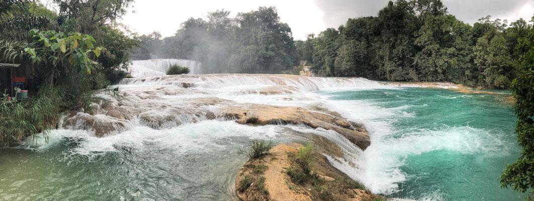 ..and impressive Water falls..