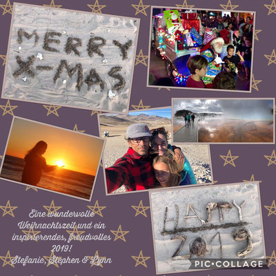 """Lynn & Stefanie made a """"Pic Collage"""" for friends and family"""