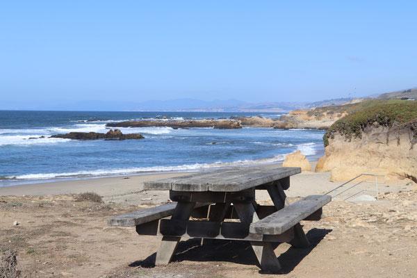 Beach an einem Stop