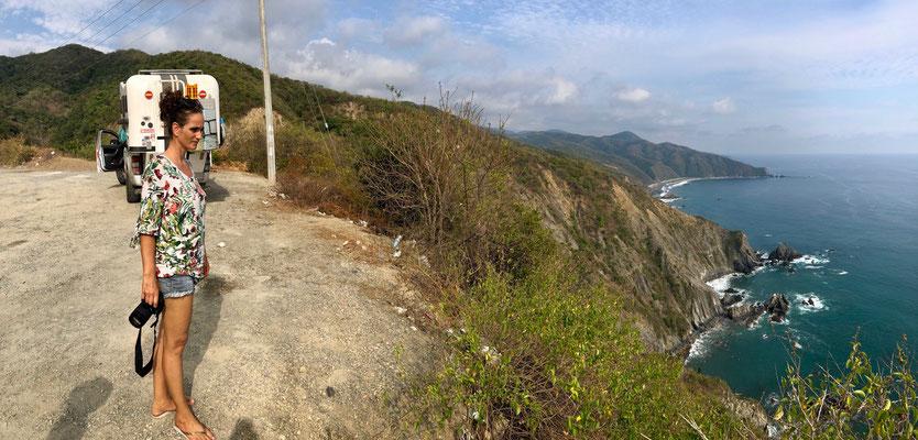 Pacific Coastline looking south