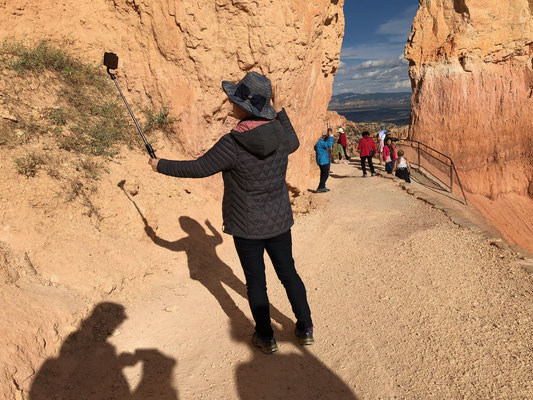 "A very common Bryce Canyon ""selfie"""