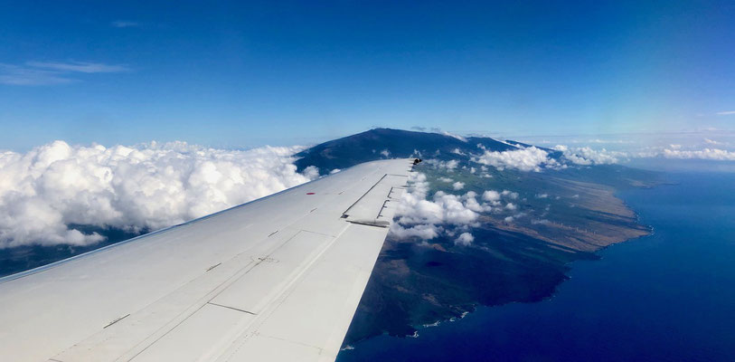 Off we go hopping from Big Island to Maui and then transferring to Kauai