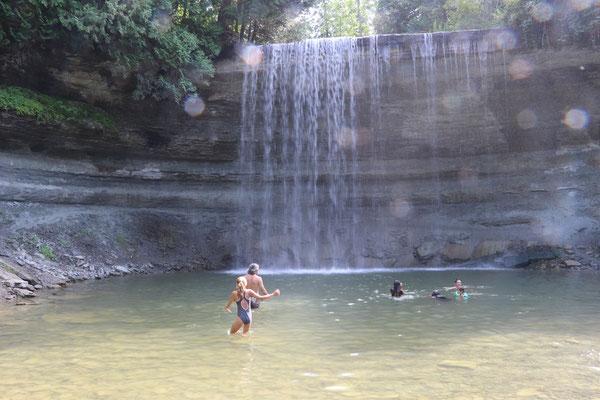 Bridelveil Falls, Manitoulin Isalnd
