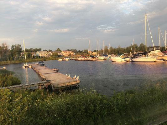 Morgenstimmung, Hafen von Little Current